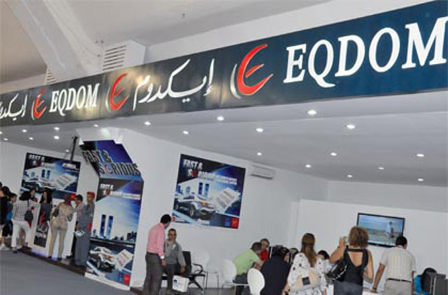 Eqdom:  Les  encours se rétractent