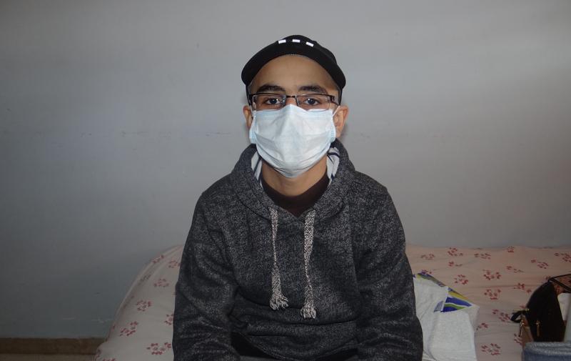 Atteint de cancer, il passe  ses examens scolaires à l'hôpital