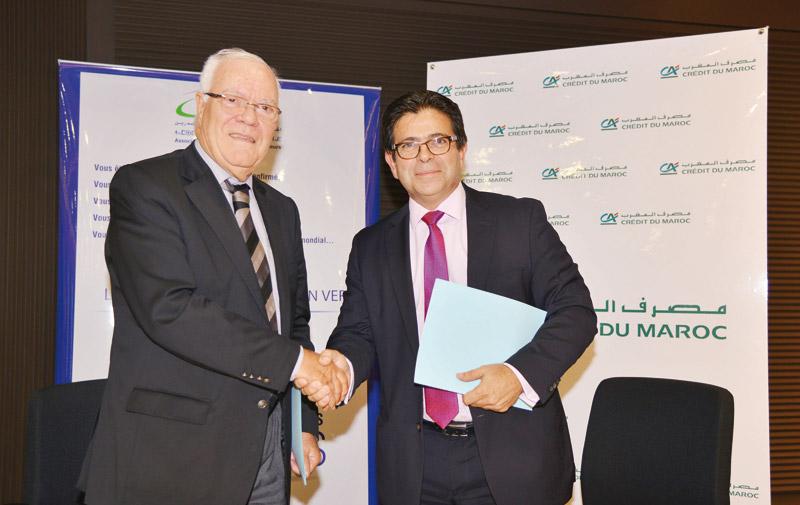 Crédit du Maroc et l'Asmex scellent un partenariat: Des services personnalisés pour les entreprises exportatrices