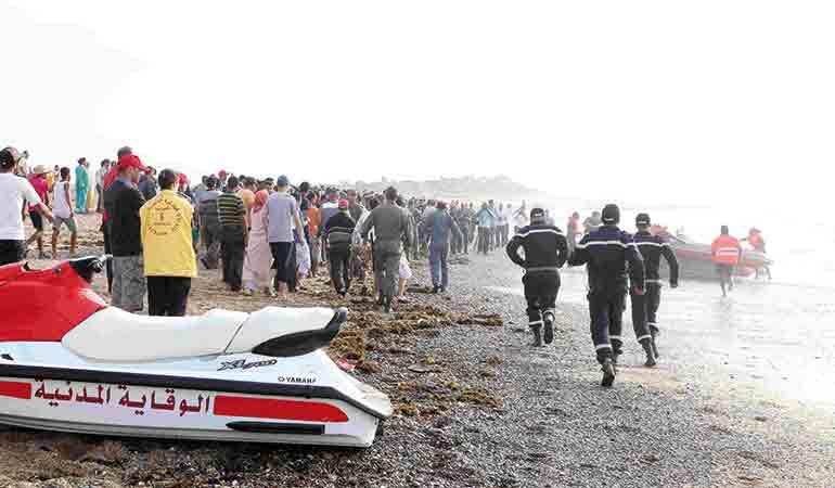 Noyade à Oued Cherrat : Cinq des onze adolescents toujours portés disparus