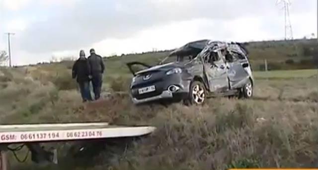 Souk Larbaâ : un accident de la route fait 3 morts et 5 blessés graves