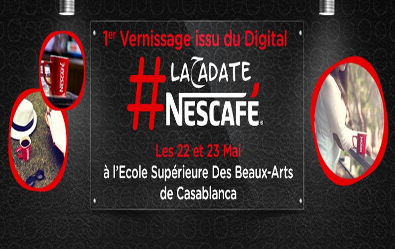 L'école des Beaux Arts de Casablanca accueille l'exposition « #La7adateNESCAFÉ »