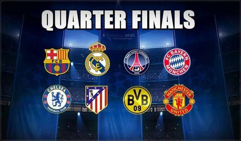 Ligue des Champions : résultats du tirage au sort des quarts de finale
