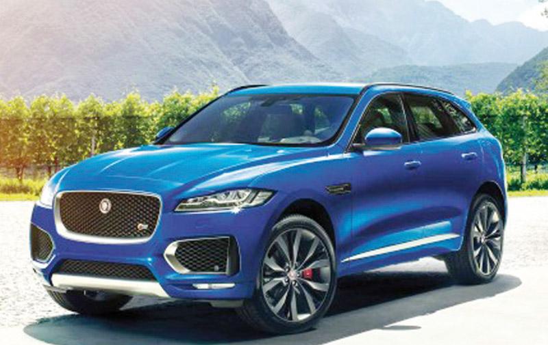 F-Pace : Le premier SUV de Jaguar officiellement dévoilé