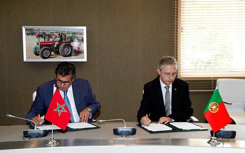 Agriculture : le Maroc et le Portugal signent un protocole de coopération