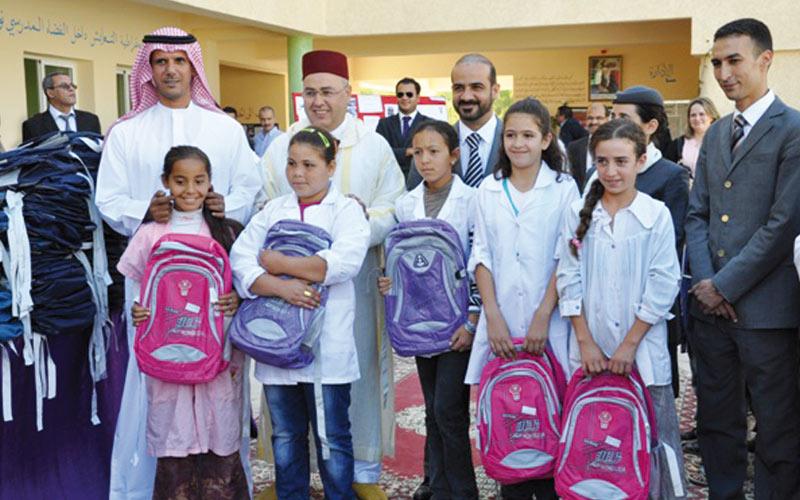 Etihad Airways fait un don aux enfants défavorisés du Maroc