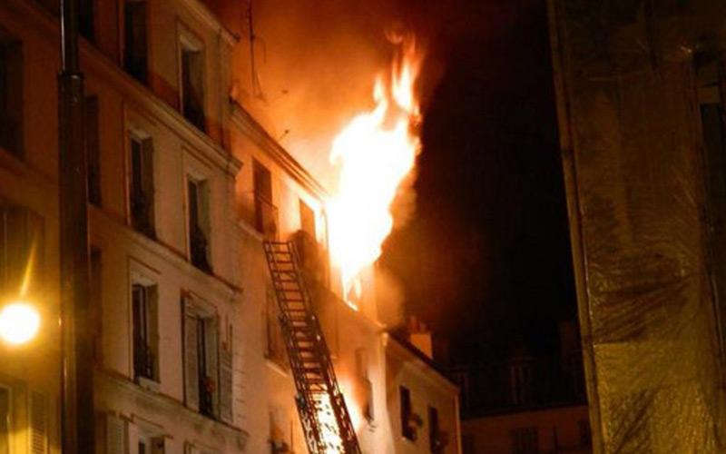 Paris : Huit morts dans un incendie (Vidéo)