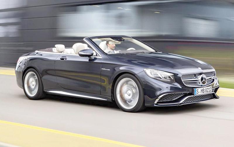Mercedes AMG S 65 :  Un cab' de 360 chevaux !