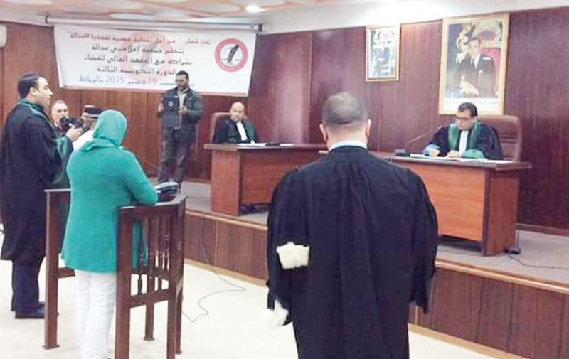 Un procès modèle lors de la dernière session de formation des journalistes judiciaires