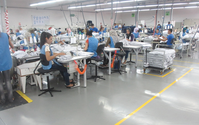 Textile: Les vêtements confectionnés, champions à l'export