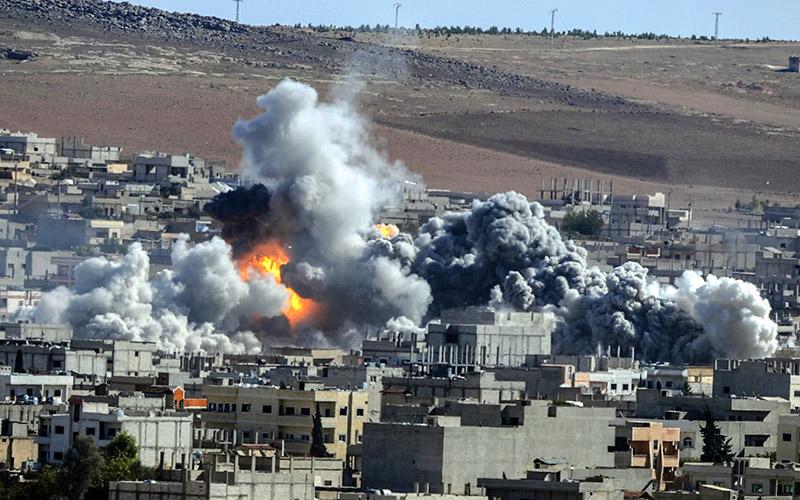 50 jihadistes du groupe Etat islamique tués à Kobané
