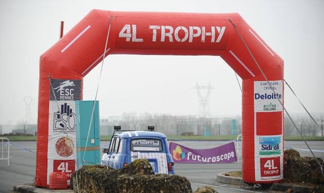 4L Trophy : Un équipage franco-marocain au finish