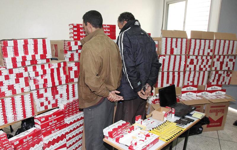 Tanger : Saisie de plus de 24.000 paquets de cigarettes  de contrebande d'une valeur de plus de 720.000 DH