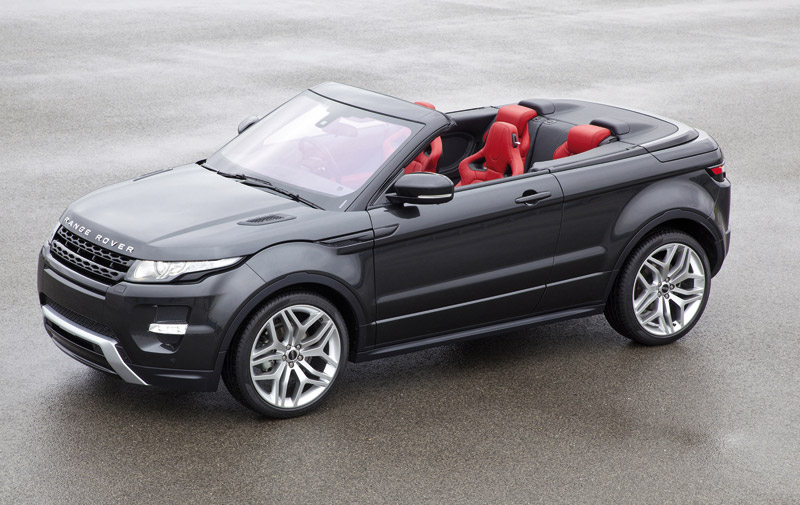 Range Rover Evoque : La version Cabriolet sera «indestructible»