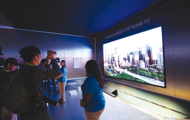 Consumer Electronics Show 2016: Samsung Electronics rafle les récompenses