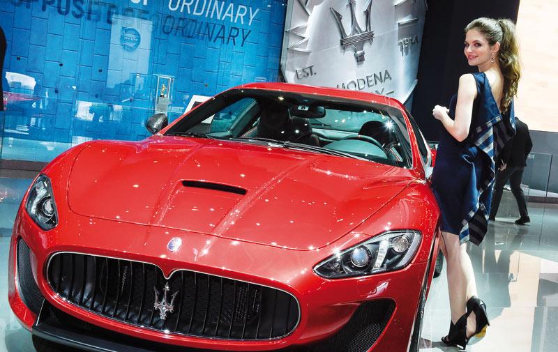 Salon de Genève :  Maserati sort tous ses charmes