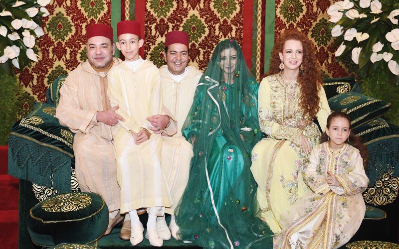 Le Maroc en fête: Mariage de SAR le Prince Moulay Rachid et Lalla Oum Keltoum Boufarès