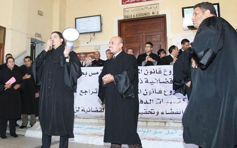Les avocats défient et Ramid menace