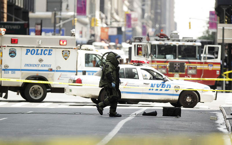 Fausse alerte à la bombe à New-York