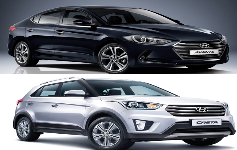 Hyundai Elantra et Creta: Bientôt chez nous !