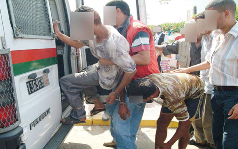 Près de 2.000 arrestations par jour en décembre