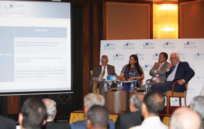 Assemblée générale de l'ASMEX: L'export boosté par 7 conventions de partenariat