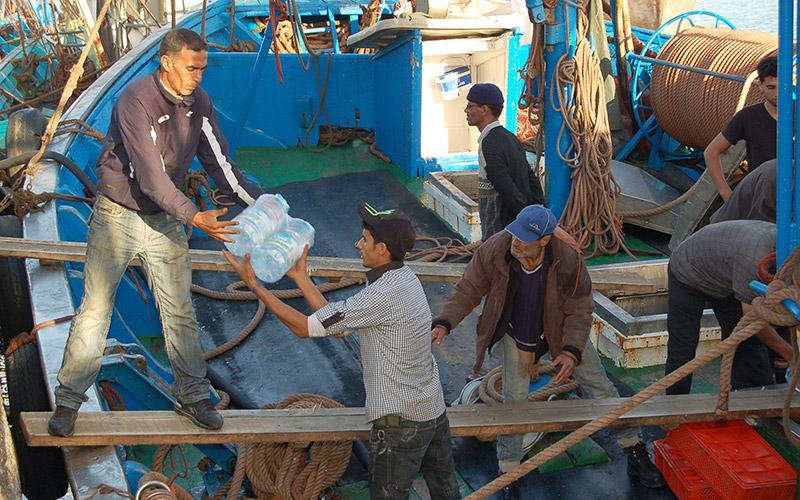 Sidi Ifni : Des bateaux de denrées alimentaires attendus au port