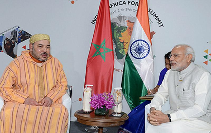 SM le Roi invite le premier ministre indien à se rendre au Maroc