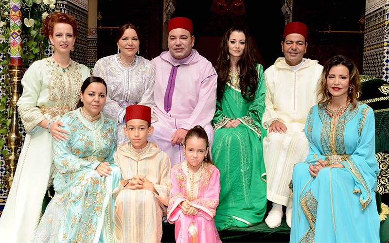 Mariage de SAR le prince Moulay Rachid avec Mademoiselle Oum Keltoum Boufarès