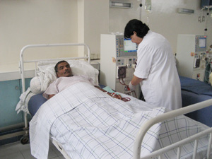 Beni Mellal : Hémodialyse au profit de 100 malades