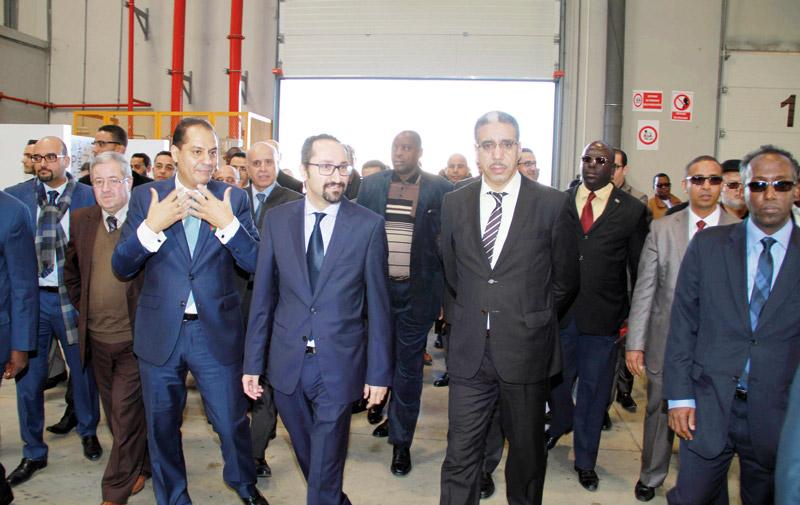 Inauguration du centre d'excellence et d'innovation «Tamayuz Supply Chain»