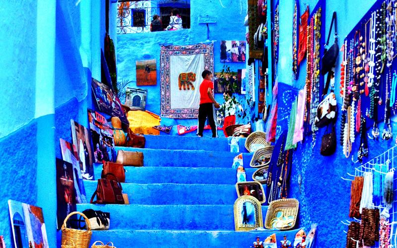 tourisme culturel et cologique chefchaouen cibl e par les op rateurs aujourd 39 hui le maroc. Black Bedroom Furniture Sets. Home Design Ideas