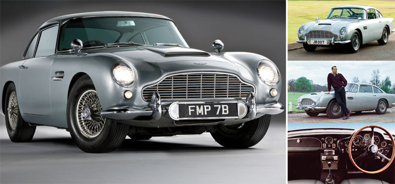 Il était une fois… Aston Martin DB5 :  Une voiture très «007» !