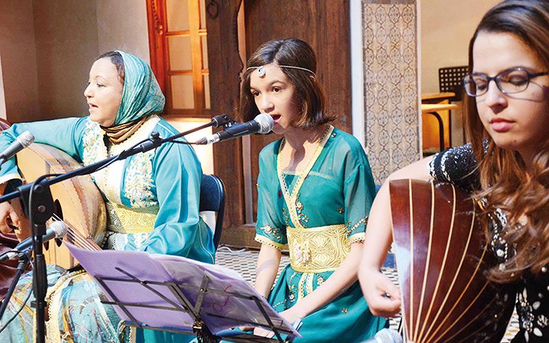 Concert de Melhoun avec Nouhaila El Kalai à Rabat