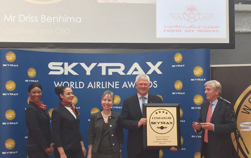 Skytrax récompense la RAM