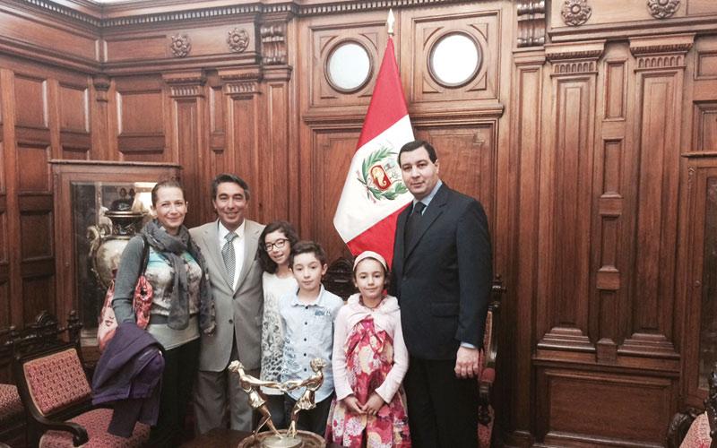 Tour du monde de la famille Atmani: Bienvenue au Pérou