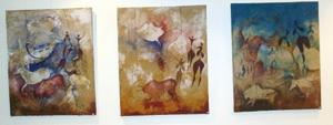 Moubarak Ammane peint les traces de l'humanité
