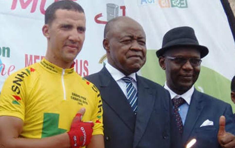 Cyclisme :  Le maillot jaune pour Lahsaini  au Cameroun