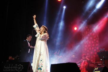 Magida El Roumi à Mawazine 2015