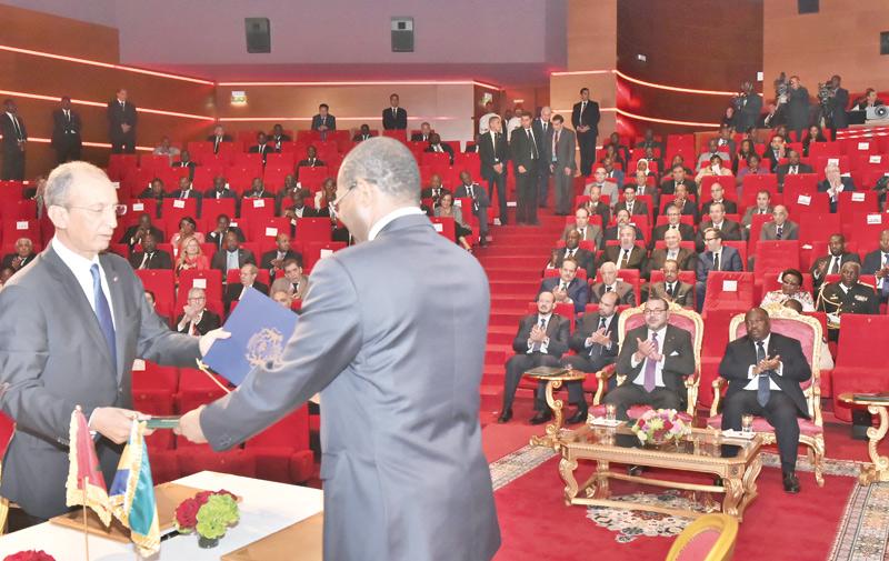 Rabat-Libreville: Hassad recommande l'expérience de l'INDH au Gabon