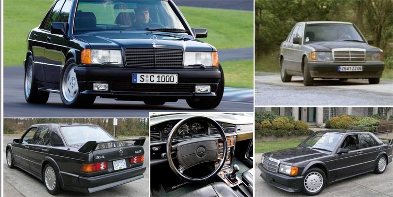 Mercedes 190 : Le must-have des eighties !