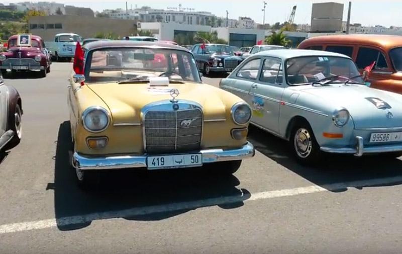 Anniversaire de la Marche verte : 40 voitures classiques refont Agadir-Laâyoune