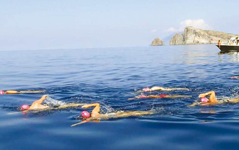 Première édition du Morocco Swim Trek à Dakhla