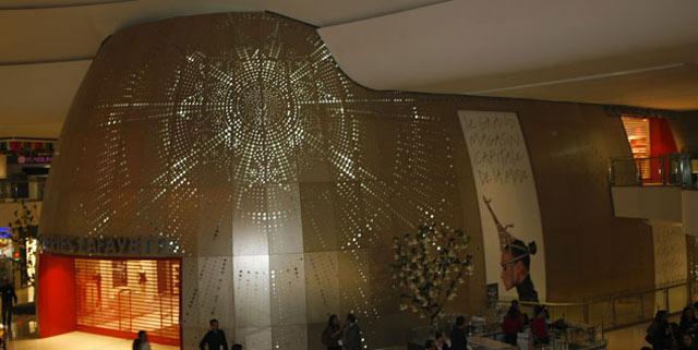 Galeries Lafayette célèbrent la mode