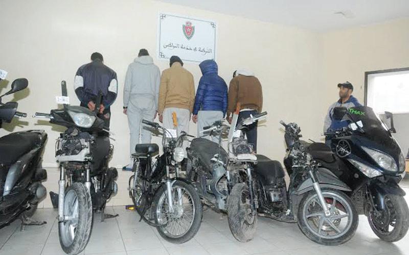 Guelmim : Arrestation d'une bande de mineurs spécialisée dans le vol de motos