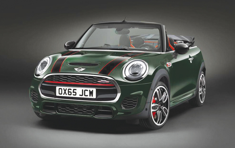 Mini : La John Cooper Works sort sa version cabrio