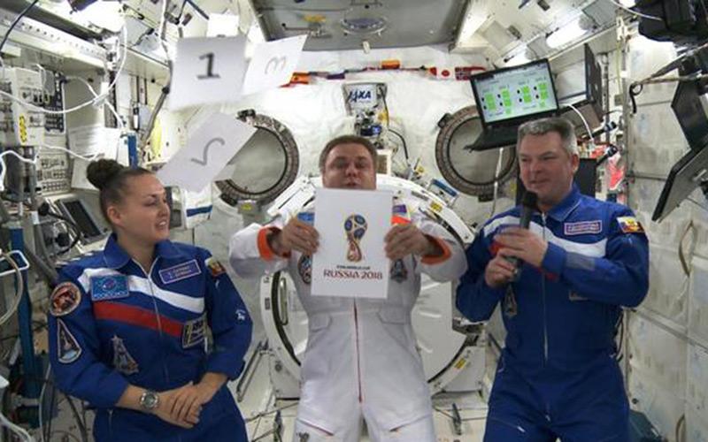 Coupe du monde 2018 : le logo de la compétition dévoilé depuis l'espace