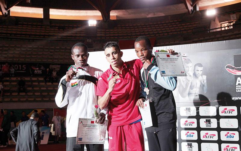 Championnats d'Afrique séniors de boxe : Le Maroc haut la main