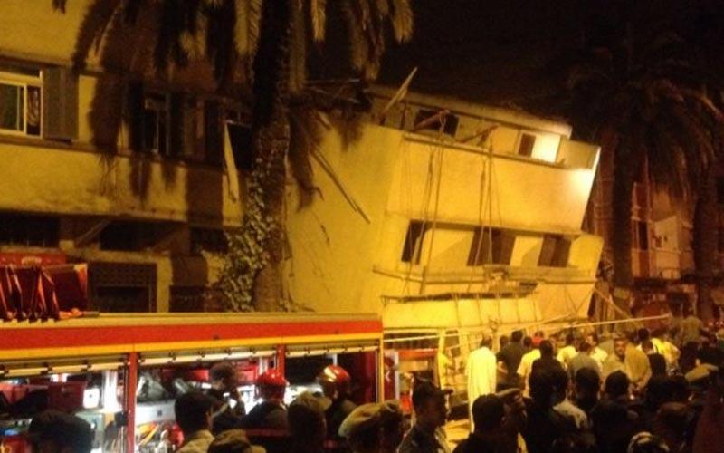 Effondrement de 3 immeubles à Casablanca : 2 morts et 47 blessés (Bilan provisoire)