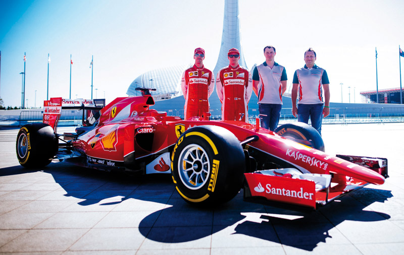 Partenariats : Kaspersky prolonge son contrat avec Ferrari